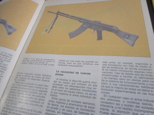 ametralladora fusil asalto cetmen arma fuego guerra 1985
