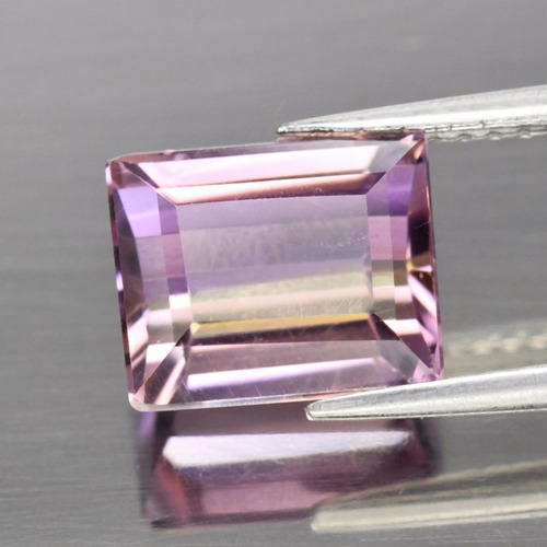 ametrino natural 100% 9 x7,5 x 5,9 mm    3,15  ct