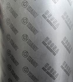 amianto c/ tela de aço 2 placas de 250x500mm 1.6 e 0,8 mm