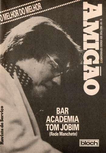 amigão 1985 capa: tom jobim - marcelo picchi