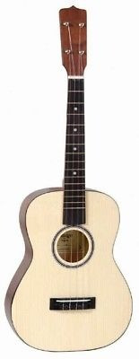 amigo amb7 vendido spruce top 4 cuerdas baritone ukulele, u
