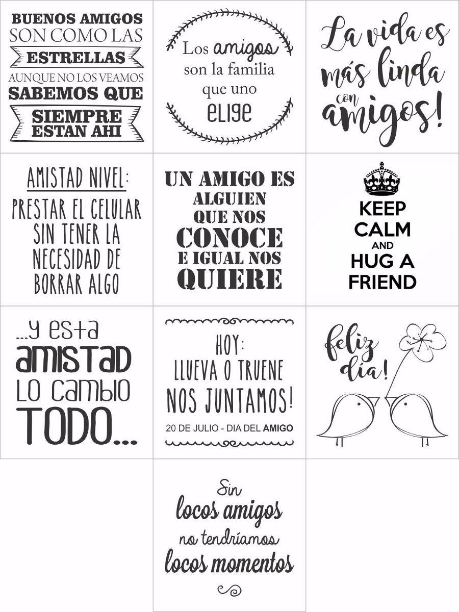 Amigos 20 Vinilos Frases Motivacionales Amistad