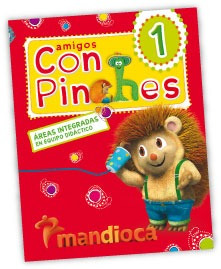 amigos con pinches 1 - ed. mandioca