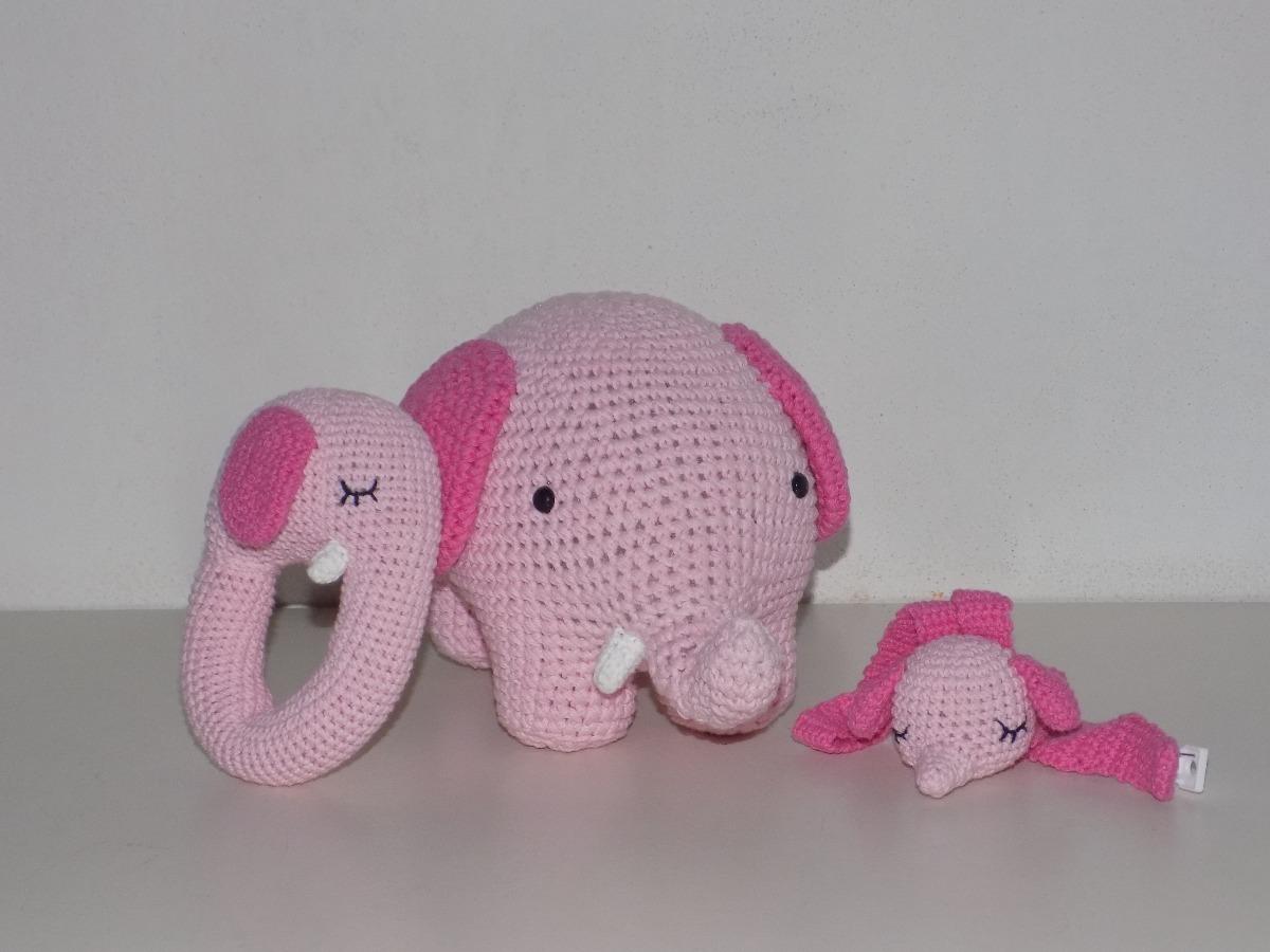 Amigurumis Para Bebes : Amigurumi ajuar para bebes elefantes en mercado libre