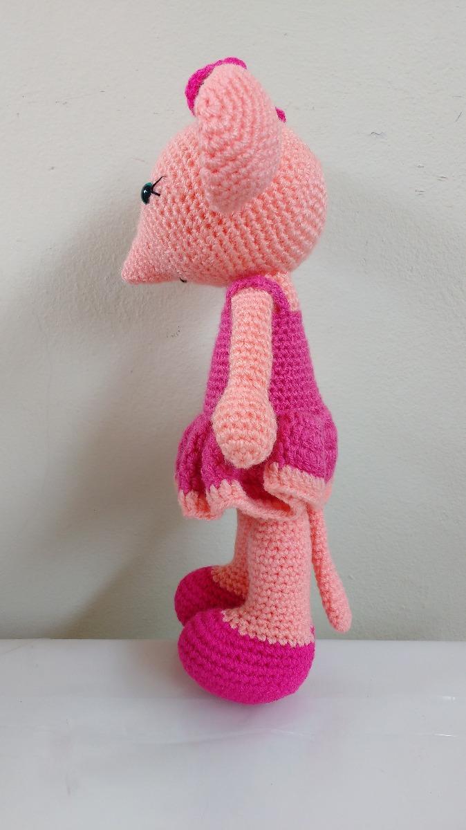 haakpatroon Angelina de ballerina muis | Связанные крючком игрушки ... | 1200x674