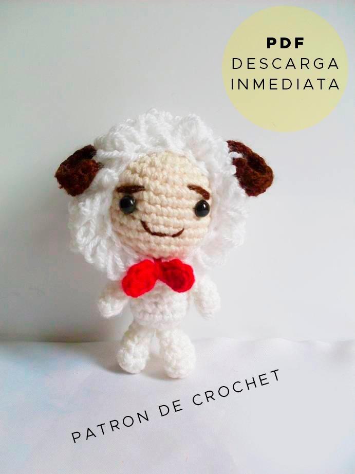 Amigurumi Aries Horóscopo Patrón Para Tejer Muñeco Crochet - $ 64,99 ...