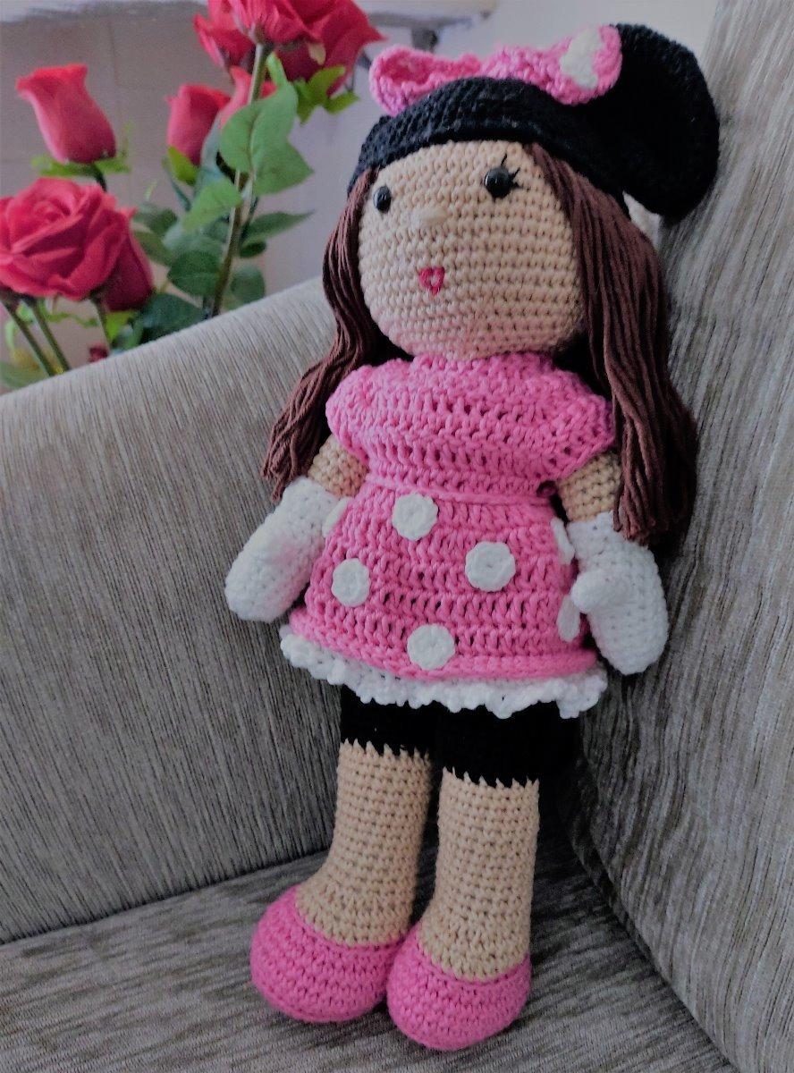 boneca de croche cabelo loiro - Como fazer artesanatos | 1200x888