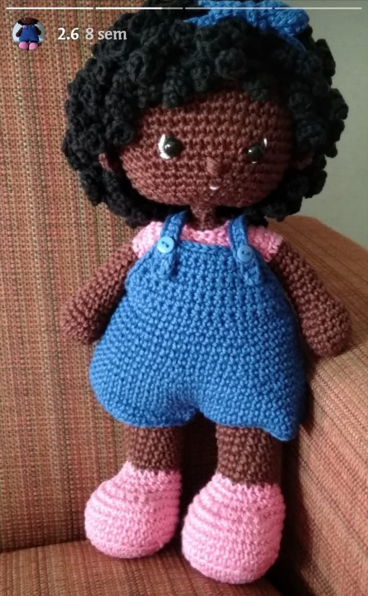 TUTORIAL : Cabelo cacheado para boneca | AMIGURUMI - Crochê ... | 1166x720