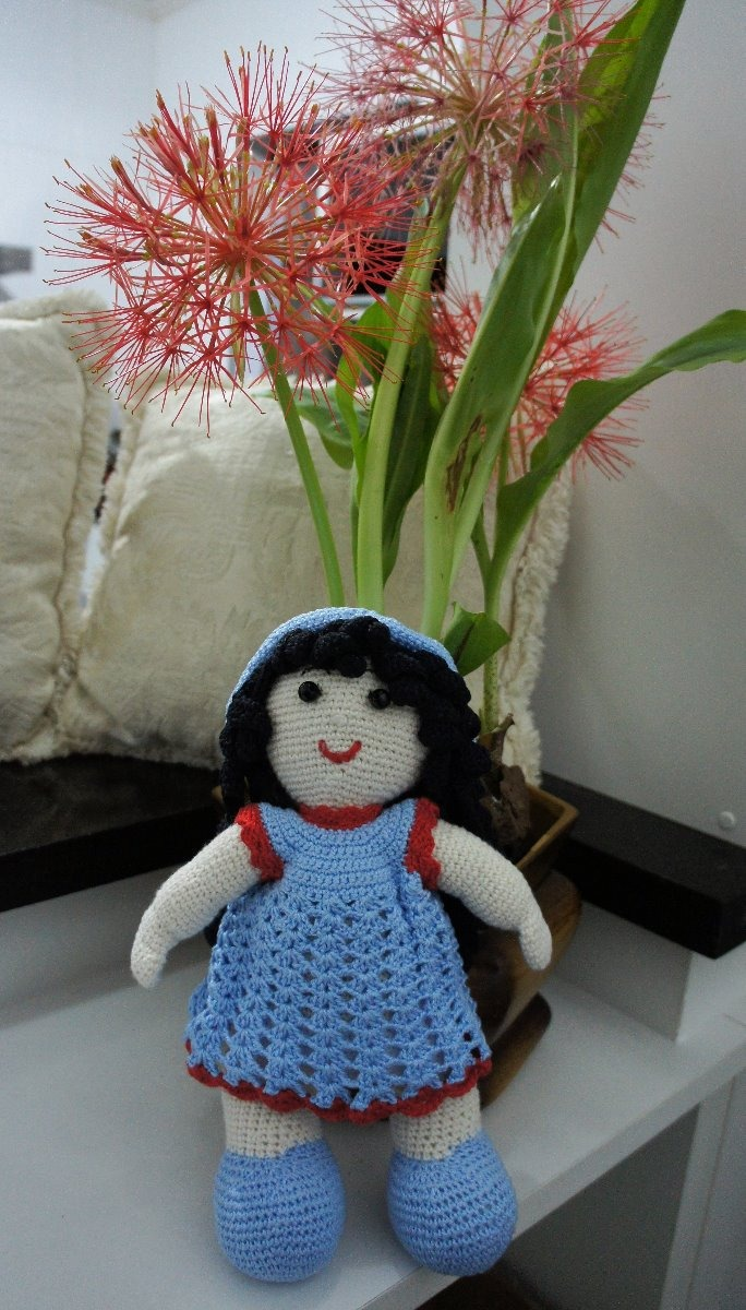 boneca de croche amigurumi no Elo7 | SiBri praia e crochet (F71D99) | 1200x684