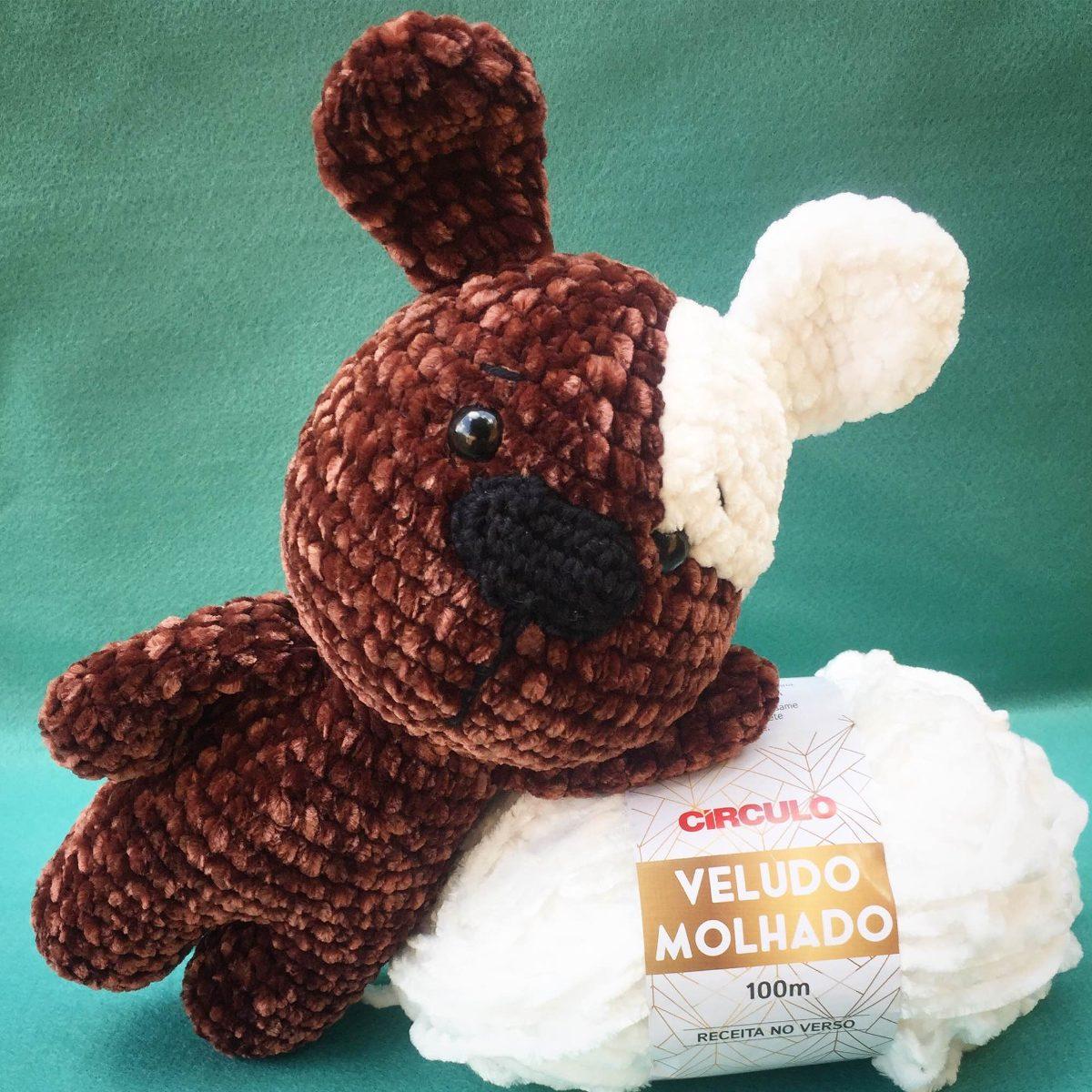 Urso amigurumi no Elo7 | O Círculo Mágico (BA0E29) | 1200x1200