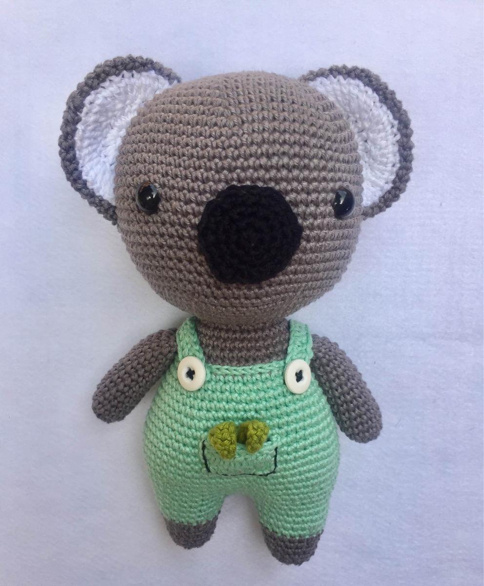 Maxi Amigurumi Coala de Crochê por Sandra Brum - YouTube | 1200x992