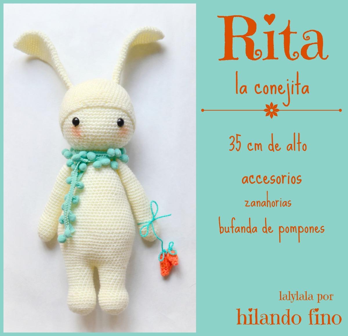 Amigurumi Conejo Muñecos Lalylala Al Crochet, Miralas!!!! - $ 350,00 ...
