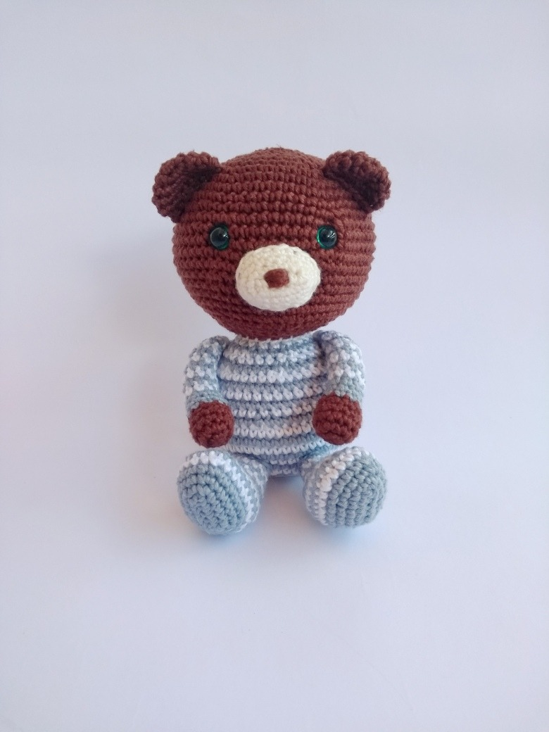 Amigurumi Pajamas Bear-Free Pattern (Amigurumi Free Patterns ... | 1040x780