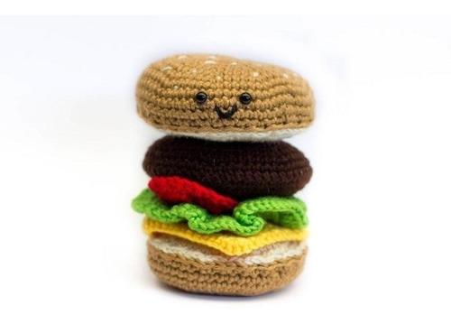 amigurumi crochet ganchillo tejido nayisk hamburguesa