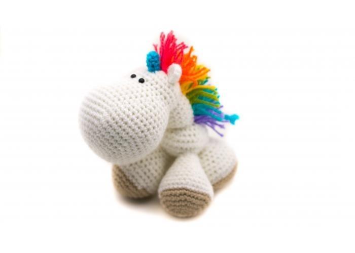 Amigurumi Crochet Ganchillo Tejido Unicornio Nayisk Handmade ...