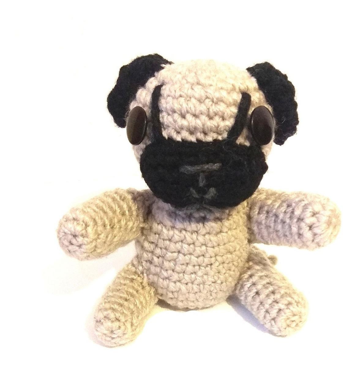 Amigurumi | Como hacer un Perro Pug en Crochet | Bibi Crochet ... | 1200x1173