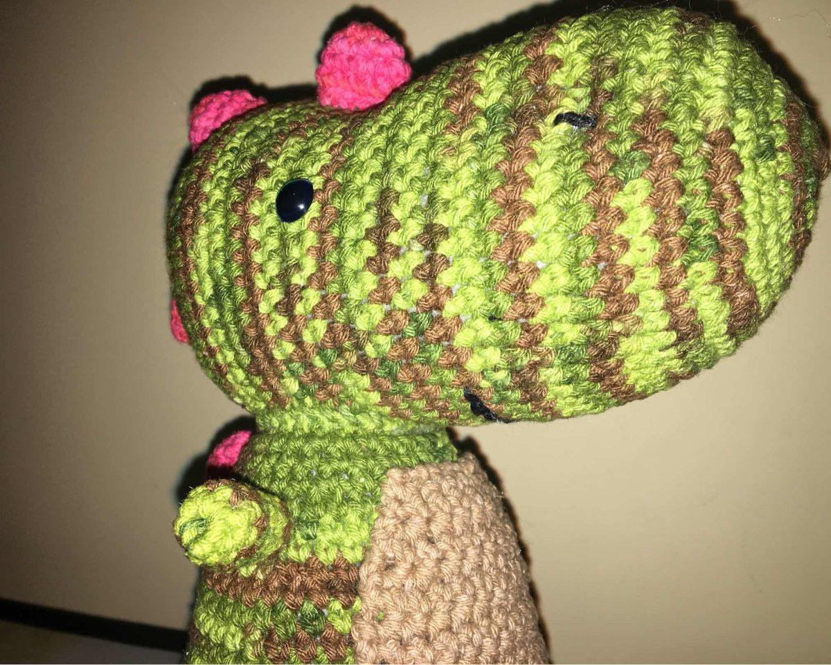 Amigurumi dinosaur crochet pattern - Amigurumi Today | 961x1200