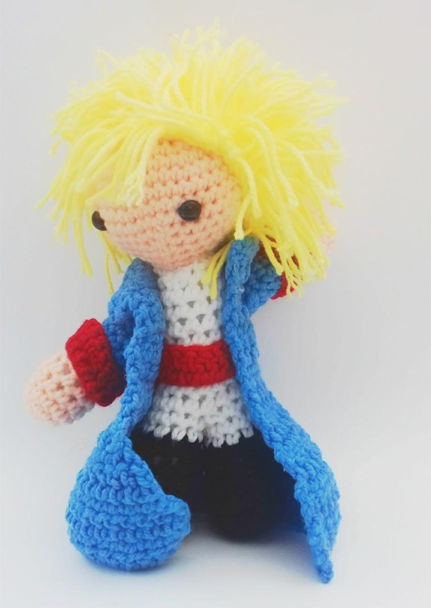 Amigurumi El Principito Tejido A Mano En Crochet - $ 265.00 en ...