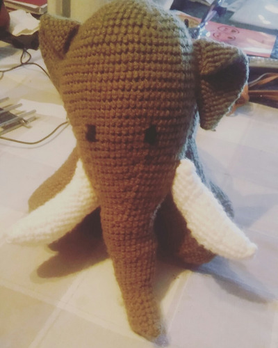 amigurumi. elefante.