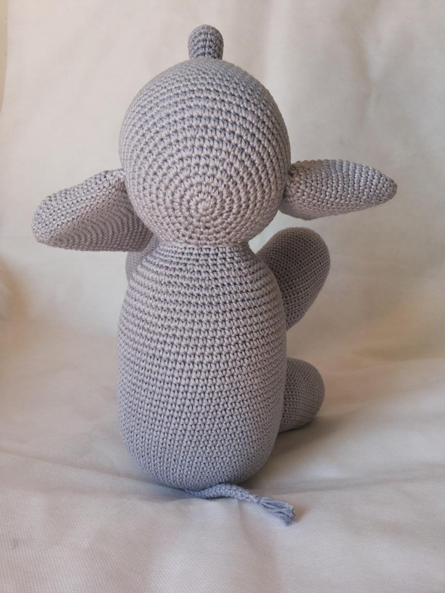 Como fazer elefante em crochê passo a passo amigurumi com receita | 1200x900