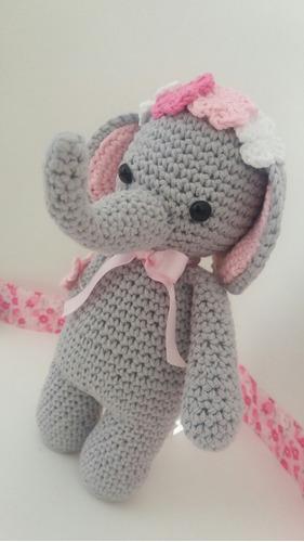 amigurumi elefantita bebé