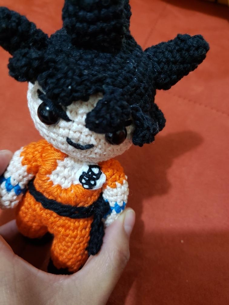 Son Goku (Dragon Ball) Amigurumi Pattern - Sueños Blanditos | 1008x756