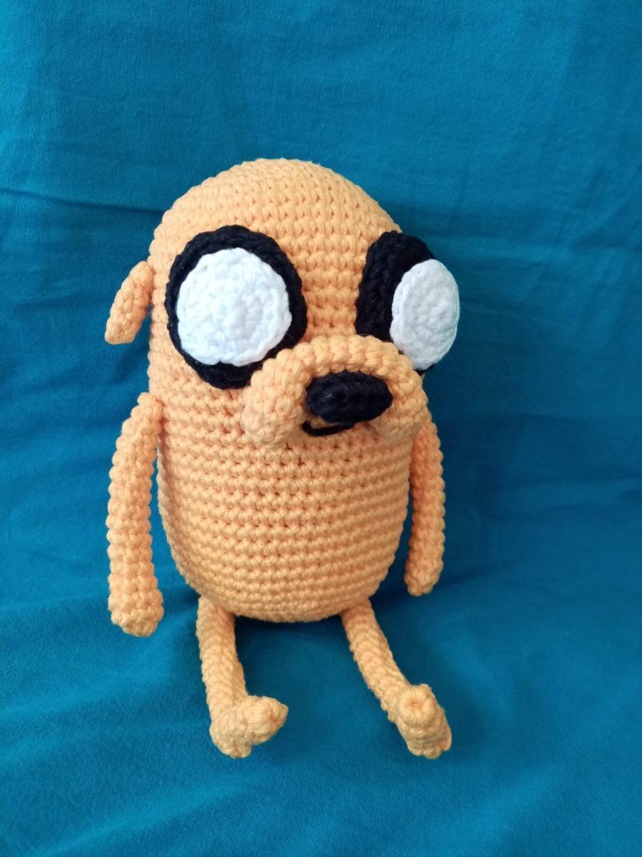 Jake amigurumi | Este amigurumi de Jake el perro es el prime… | Flickr | 1200x899