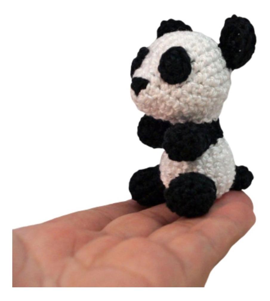 Crystal Panda: Free Panda Amigurumi Crochet Patterns | 1012x905