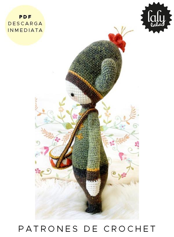 Amigurumi Lalylala Cactus Patron Para Crochet En Ingles - $ 64,99 en ...
