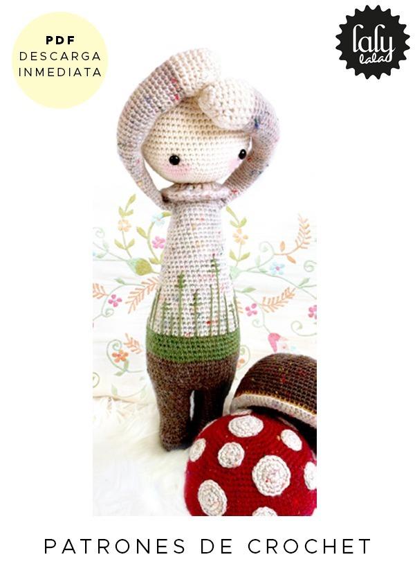 Amigurumi Lalylala Hongo Patron Para Tejer Crochet Ingles - $ 64,99 ...