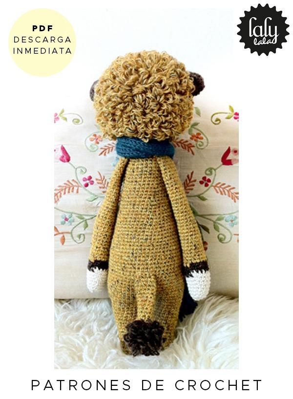 Amigurumi Lalylala Leon Loni Patron Para Crochet En Ingles - $ 64,99 ...