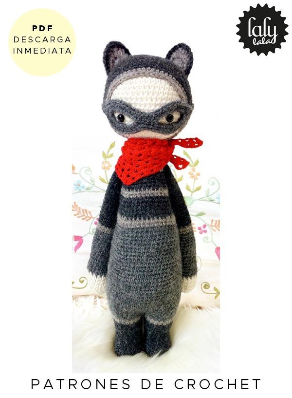 Amigurumi Lalylala Mapache Patron Para Tejer Crochet Ingles - $ 64 ...