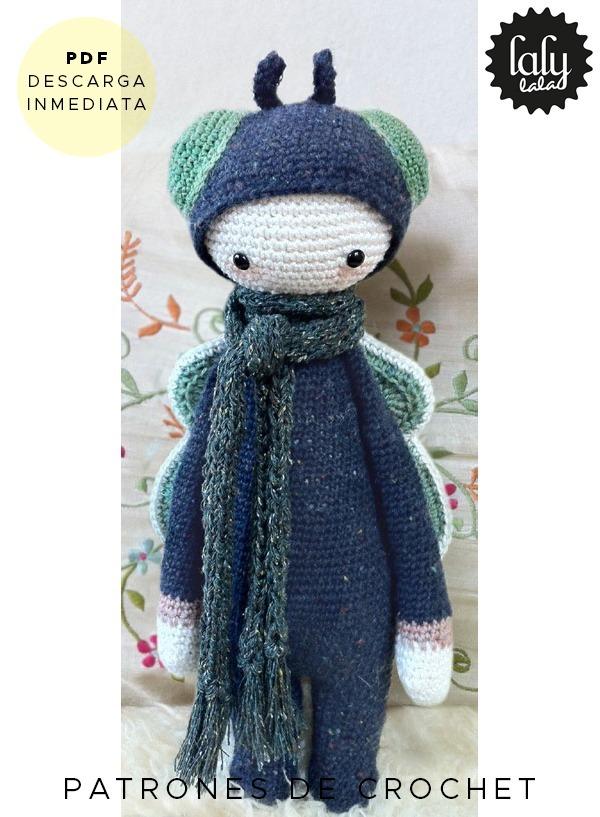 Amigurumi Lalylala Mosca Patron Para Tejer Crochet En Ingles - $ 64 ...