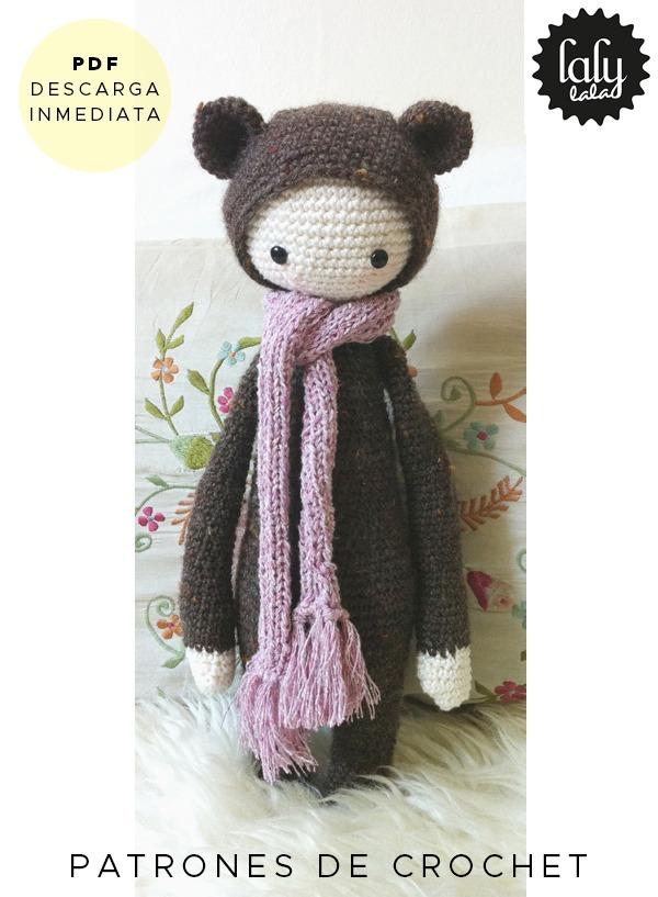 Amigurumi Lalylala Oso Patron Para Tejer Crochet Ingles - $ 64,99 en ...