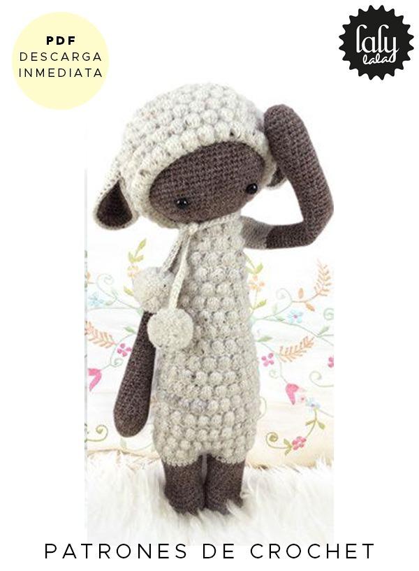 Amigurumi Lalylala Oveja Patron Para Tejer Crochet En Ingles - $ 64 ...