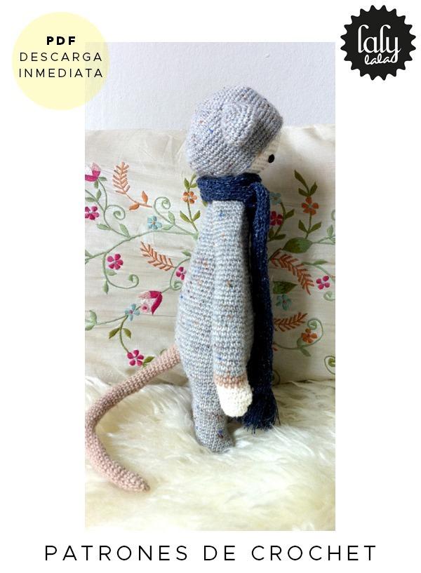 Amigurumi Lalylala Raton Patron Para Tejer Crochet En Ingles - $ 64 ...