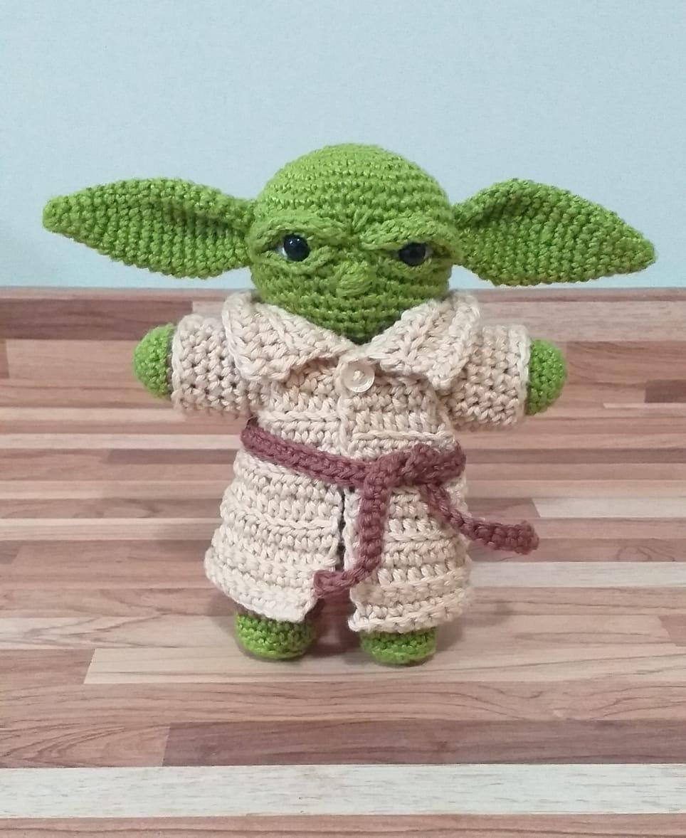 Mestre Yoda amigurumi no Elo7   Artes Da Danzi (1170E23)   1178x964