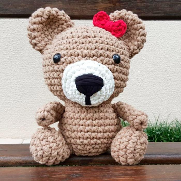 Urso Polar Receita de Amigurumi de Crochê Grátis - Little Bear ... | 700x700