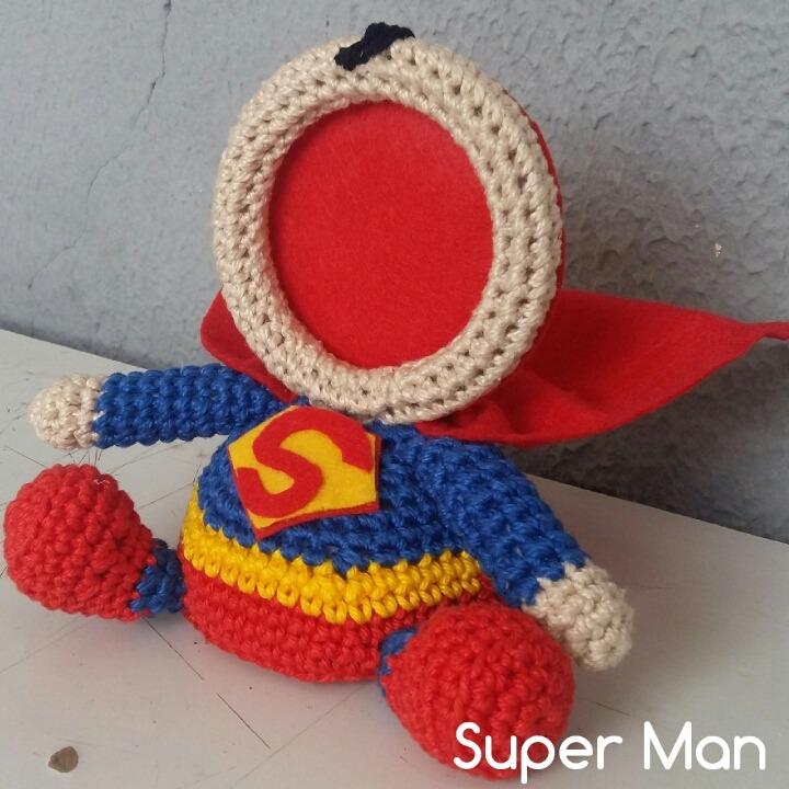 Superman amigurumi | Cavalo de crochê, Padrão de boneca de crochê ... | 720x720
