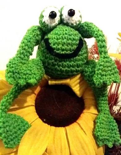 amigurumi sapo tejido al crochet