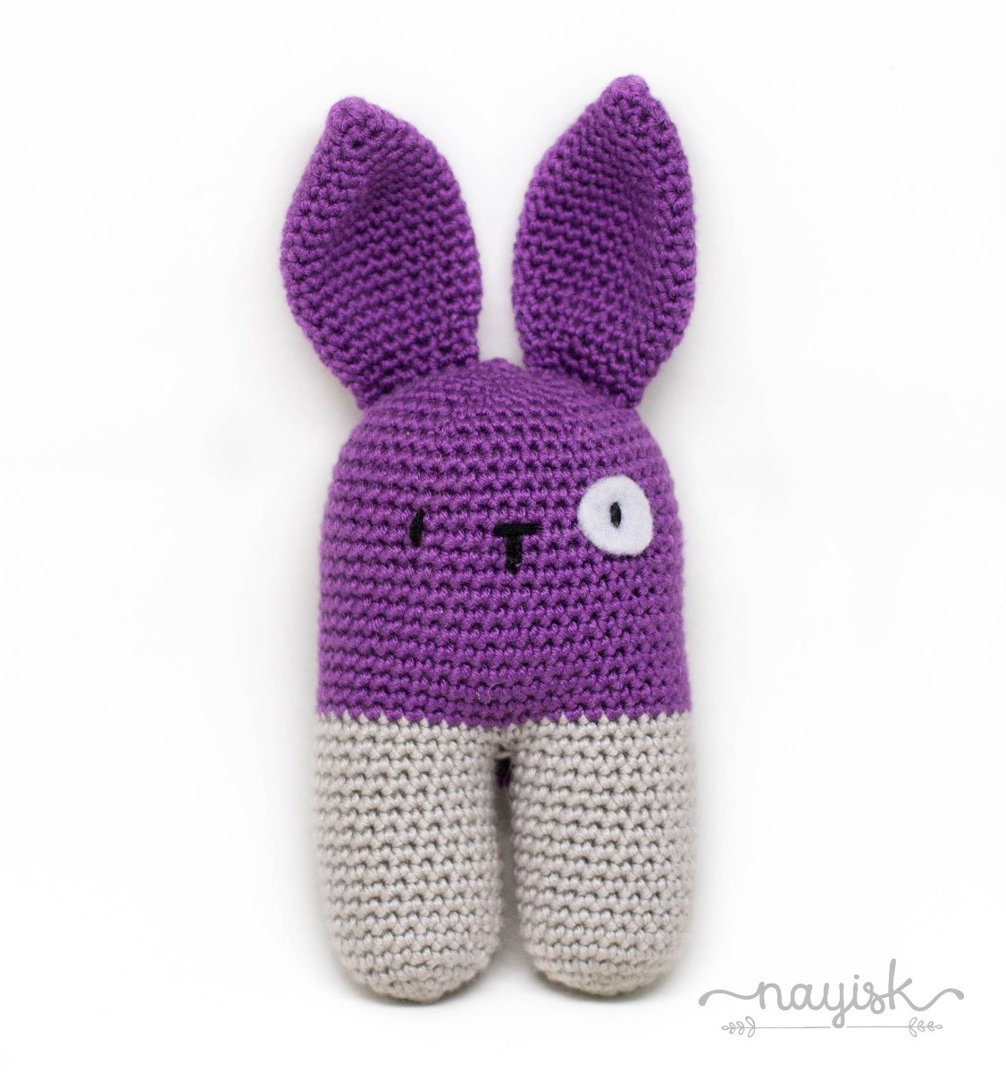 Amigurumi Sonaja Crochet Ganchillo Conejo Bipedo Morado - $ 250.00 ...