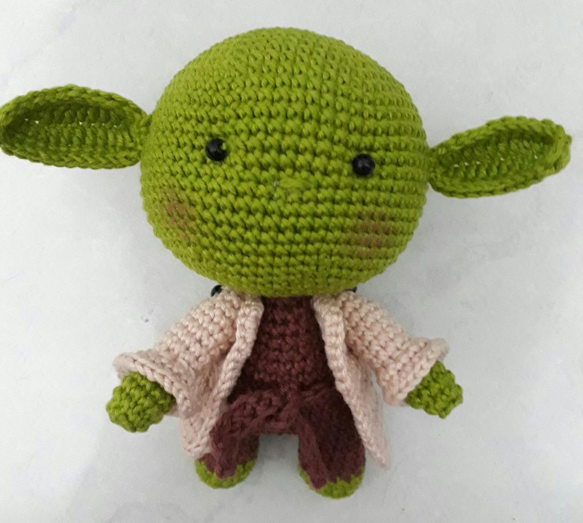 Receita Amigurumi Star Wars - Amigurumi Yoda de Crochê (Inspiração ...   1076x1200