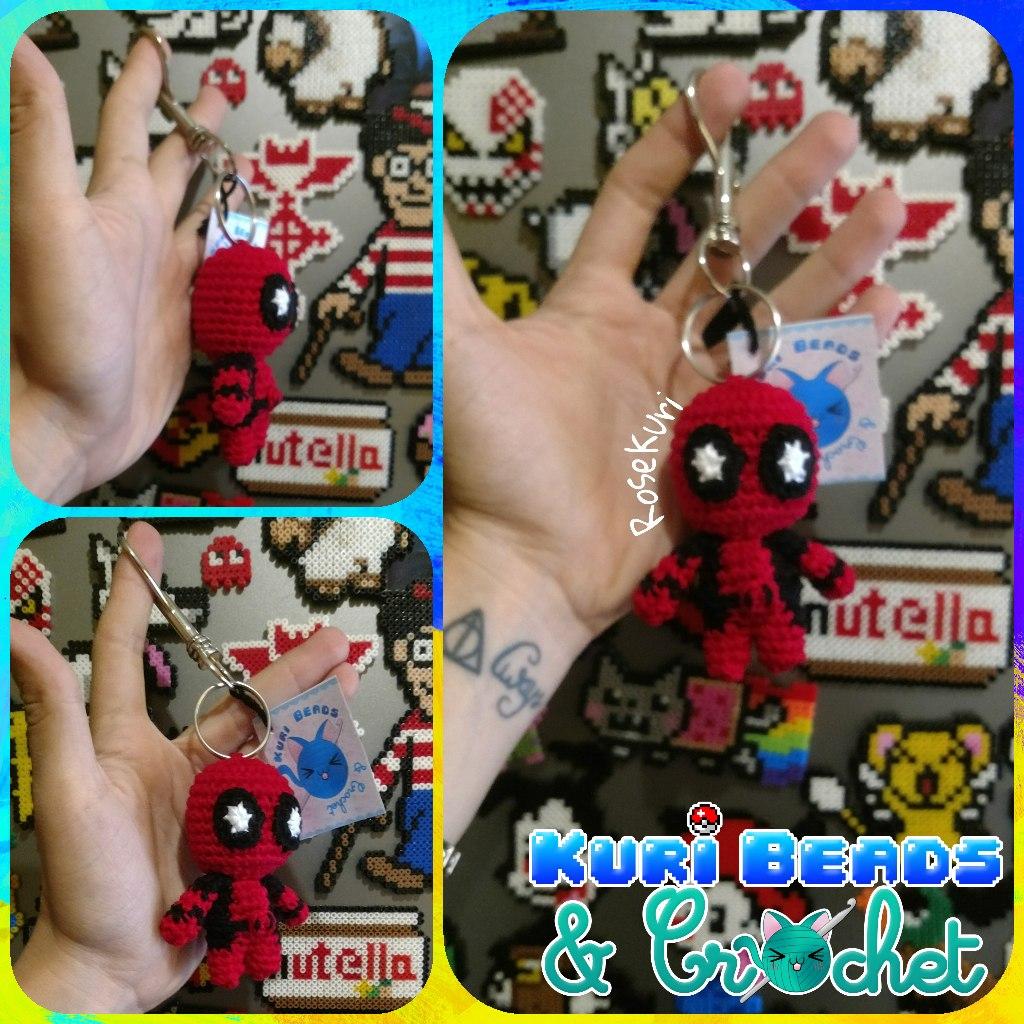 Ravelry: Deadpool Amigurumi pattern by Sheridan Amb | 1024x1024