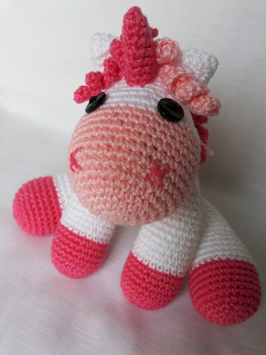 Ravelry: Hope the Baby Unicorn Amigurumi pattern by @kpopcrochet ... | 1200x900