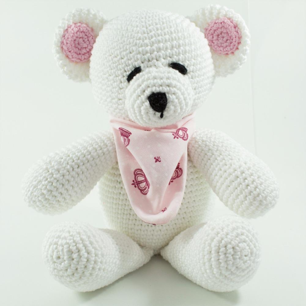 Amigurumi de Crochê Mini Ursinho 17 cm CORES | Arquitetas Express | 1000x1000