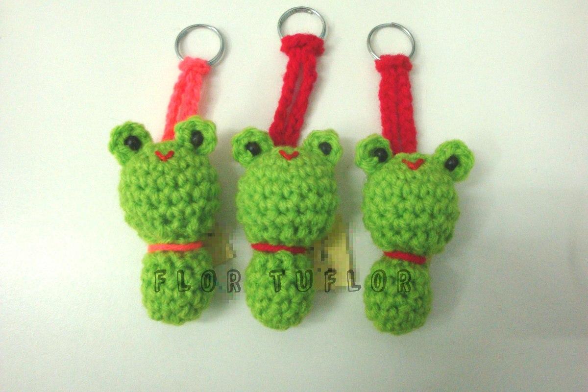 Amigurumis Pequeños Para Llaveros : Amigurumis animalitos tejidos crochet llavero souvenirs