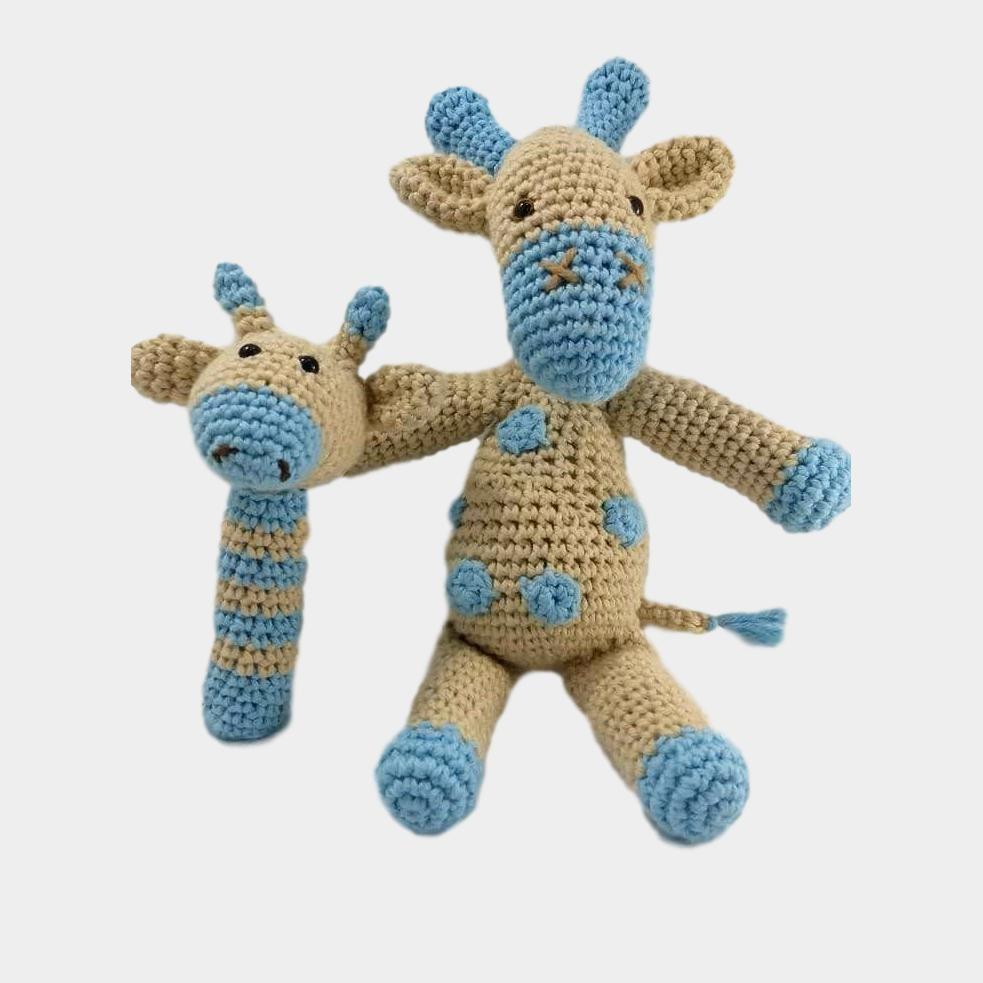 Amigurumi crochê girafa brinquedo boneca chocalhos|doll rattle|toy ... | 983x983