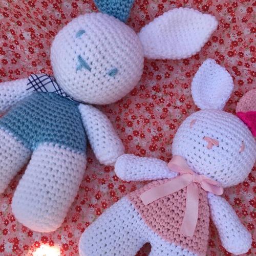 amigurumis: conejitos bebés