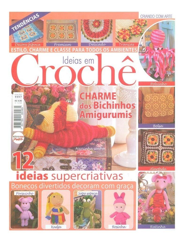 Kit Apostila Amigurumi - 5 Revistas Circulo Novas - R$ 50,00 em ... | 1038x793