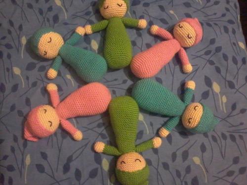 amigurumis. crochet.  bebé tejido en crochet. amigurumi.